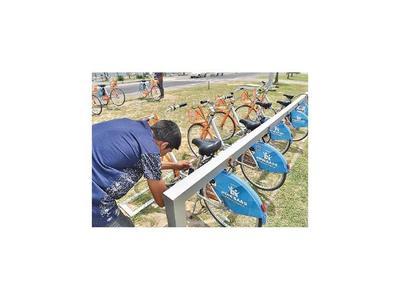Habilitan de nuevo el servicio de bicis públicas en Asunción