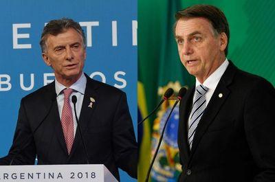 Macri parte hacia Brasilia donde se reunirá con Bolsonaro
