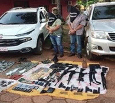 Desbaratan banda que realizaba secuestros exprés en Amambay