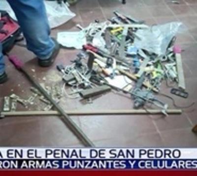 Realizaron requisa en cárcel por supuesto plan de fuga con explosivos