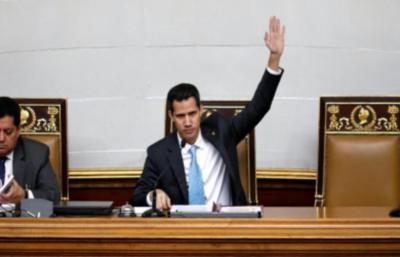 Declaran usurpador a Maduro