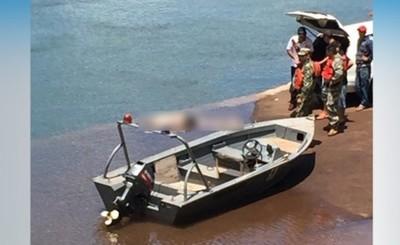 Rescatan cuerpo del hombre ahogado en el Paraná