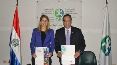 Gobernación de Central y OEI impulsarán proyectos de cooperación