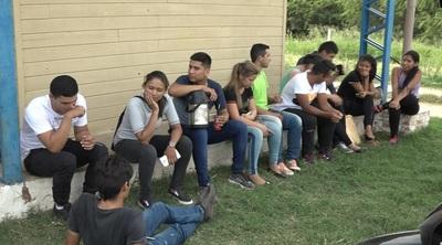 Jóvenes chaqueños ingresan al Colegio de Policía