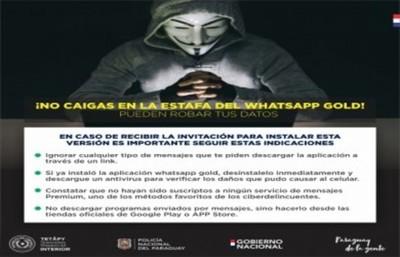 Whatsapp Gold roba toda la información del celular