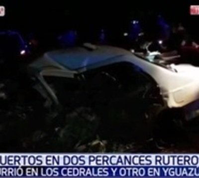 Madre e hijo mueren en accidente en Cedrales