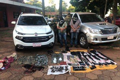Detienen a supuestos secuestradores en Pedro Juan Caballero