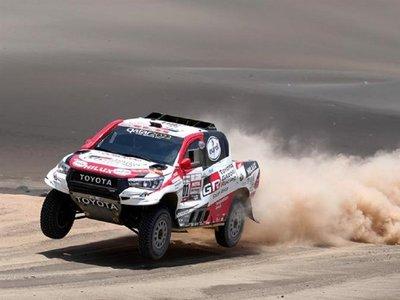 Al-Attiyah sentencia el Dakar al ganar la penúltima etapa