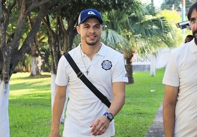 Primeras palabras de Rodrigo Rojas, en su regreso a Olimpia