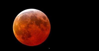 Eclipse lunar podrá verse desde todo el Paraguay