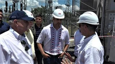 Inauguran oficialmente obras de ampliación de la Subestación Loma Plata