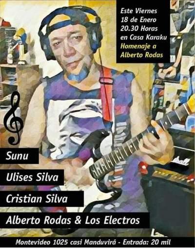 Concierto homenaje a Alberto Rodas este viernes en Casa Karaku