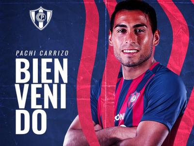 Federico Carrizo es nuevo jugador de Cerro Porteño