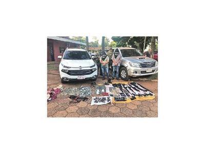 Caen dos presuntos secuestradores en Pedro Juan Caballero