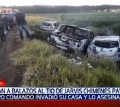 Asesinan a tiros al tío del narco Jarvis Chimenes Pavao