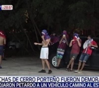 Más de 50 hinchas detenidos por actos vandálicos
