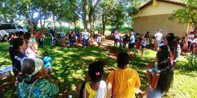 Asisten a comunidad indígena de Mbaracayú