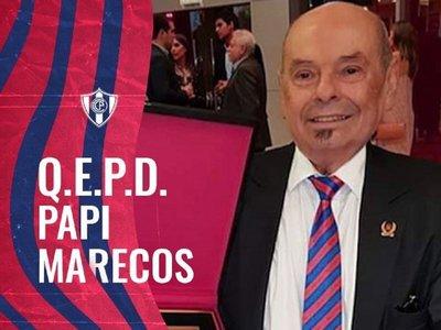 Falleció Clodomiro Marecos, dirigente de Cerro durante 37 años