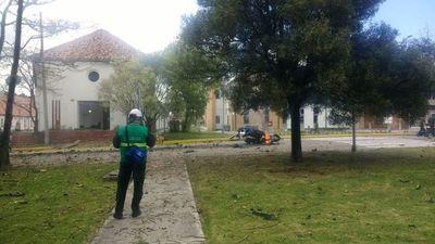 Al menos cuatro muertos por presunto coche bomba en academia de policía en Bogotá