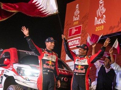 Al-Attiyah gana su tercer Dakar