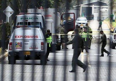 Ocho muertos por coche bomba en Bogotá