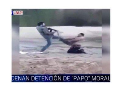 """Detienen a """"Papo"""" Morales en Villarrica"""