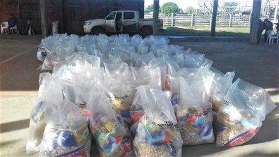 SEN entrega alimentos a familias damnificadas en General Bruguez