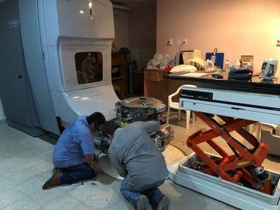INCAN: equipo de radioterapia nuevamente en funcionamiento