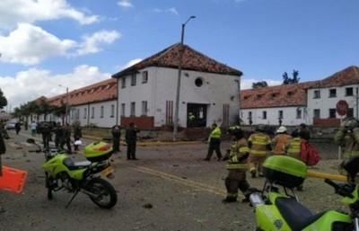 Condenan atentado en Bogotá