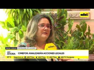 Cimefor: Analizarán acciones legales