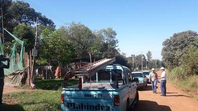 ANDE realizó masivas desconexiones a suministros irregulares en Limpio
