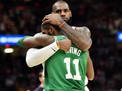 Irving asumió haberse equivocado con LeBron James