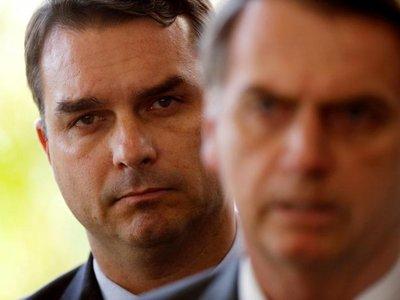Juez suspende investigación que salpica a un hijo de Bolsonaro