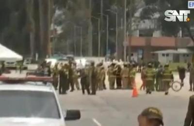 Colombia: coche bomba estalló en escuela de policías