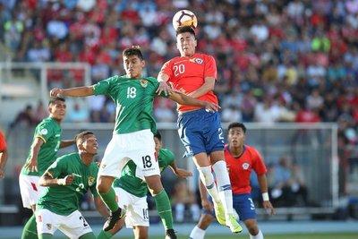 Chile rescató un punto ante Bolivia