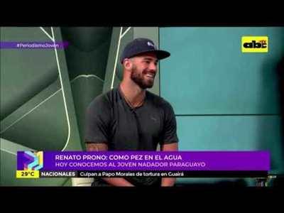 Renato Prono: como pez en el agua