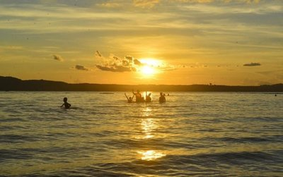Días cálidos & sunset en San Ber