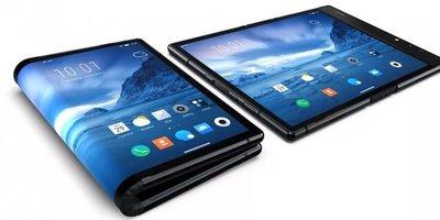 Smartphone con pantalla plegable