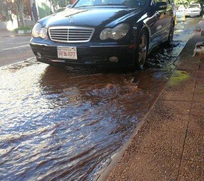 Sanlorenzanos no tuvieron agua por varias horas