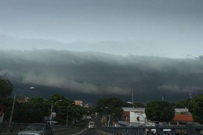 Viernes de lluvias y tormentas