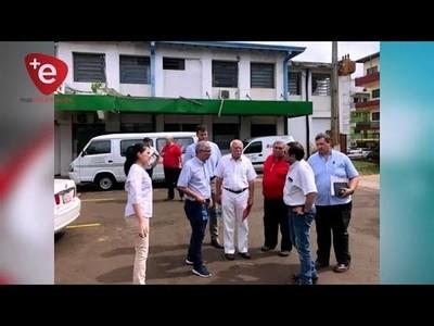 REFUNCIONALIZACIÓN DEL HRE: TÉCNICOS DE LA EBY RECORRIERON LAS INSTALACIONES