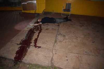 Matan de 10 balazos a un guardia de seguridad en el barrio Santa Ana