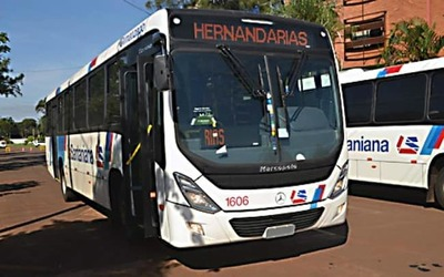 Dinatran inhabilita a La Santaniana que opera entre Hernandarias-CDE