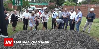 PALADA INICIAL EN EL LOCAL DE LA CÁMARA DE COMERCIO DE ENCARNACIÓN