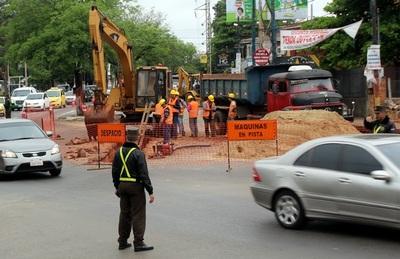 Iniciaron trabajos para mejorar avenida