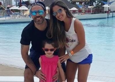 Álvaro Mora Se Tomó Un Receso Laboral Y Así Disfruta Con Su Familia