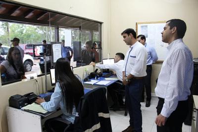 Habilitan oficialmente sistema de control biométrico en Pilar