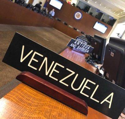 Piden reunión extraordinaria en la OEA por la crisis en Venezuela