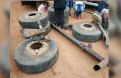 Guarambaré: continúan allanamientos por robo de camión