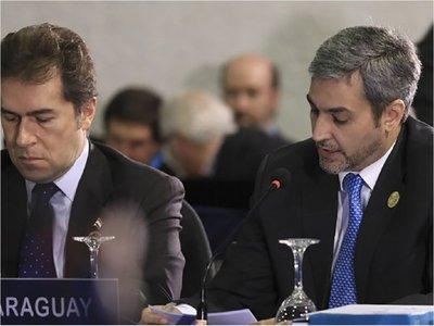 Paraguay no logró que otros países  repliquen su postura